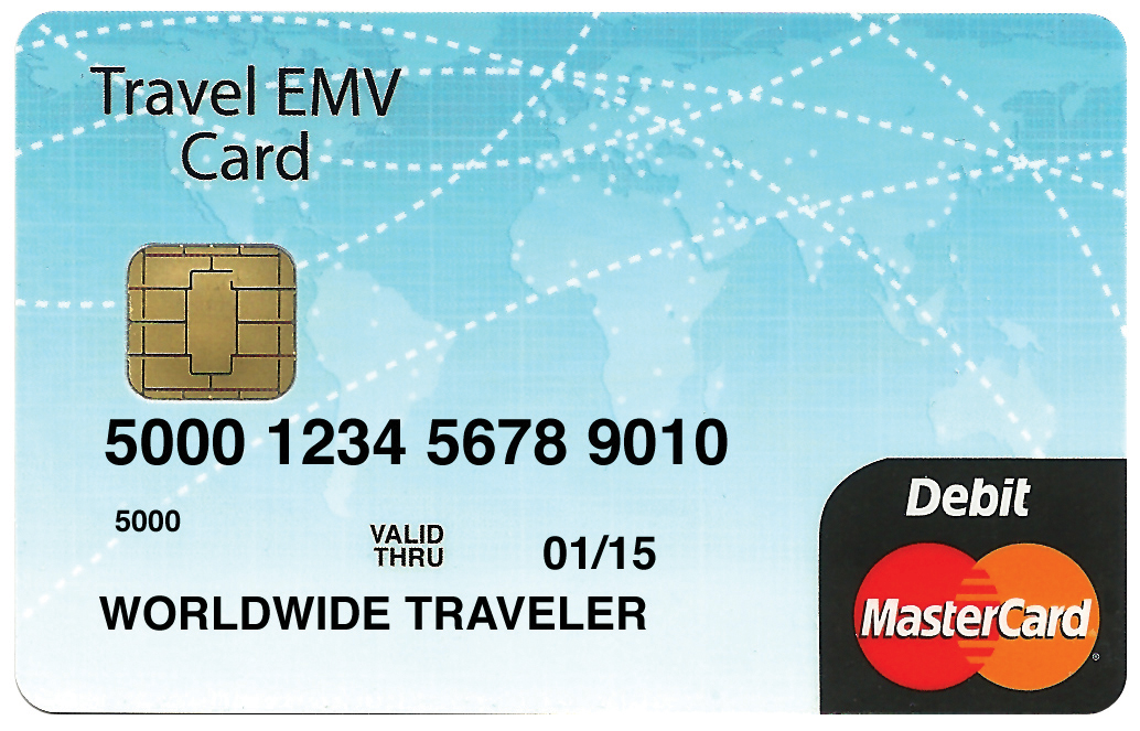 travel emv image - Mastercard Prepaid Travel Card